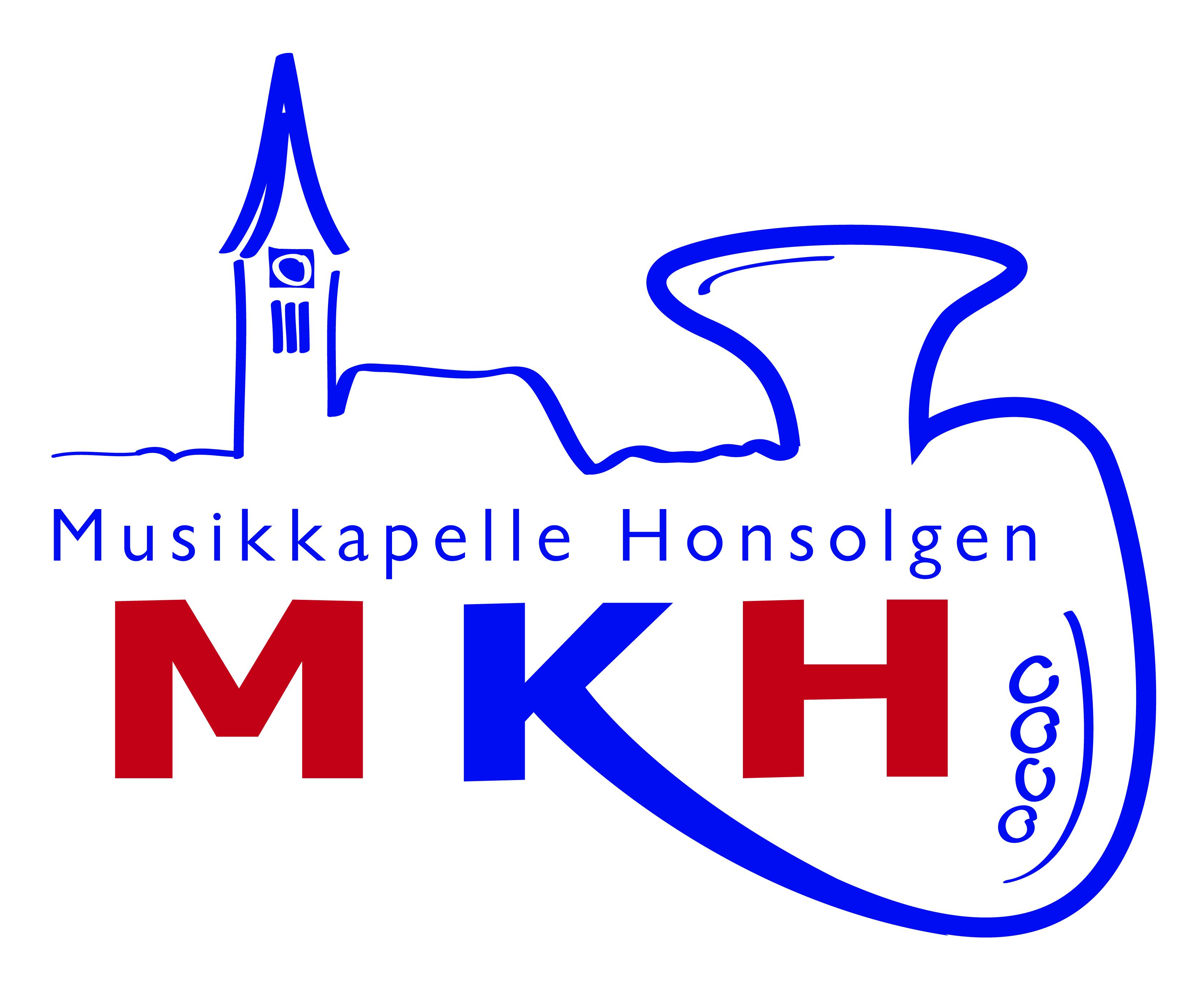 LOGO MKH Musikkapelle Honsolgen LOGO