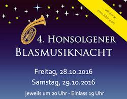 Honsolgener Blasmusiknacht Abend 1 @ Festhalle Honsolgen | Buchloe | Bayern | Deutschland